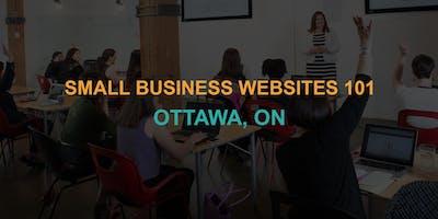 Small Business Websites 101: Ottawa workshop