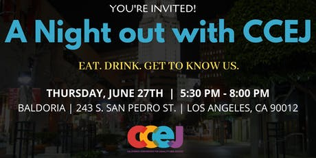 A Night Out with CCEJ tickets