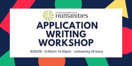 NEH Application Writing Workshop tickets