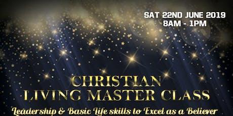 Christian Living Masterclass tickets
