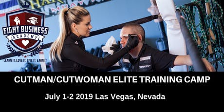Fight Business Academy Cutman/Cutwoman Elite Training Camp tickets