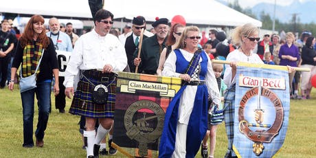 Gathering of The Clans Registration - 2019 Alaska Scottish Highland Games tickets