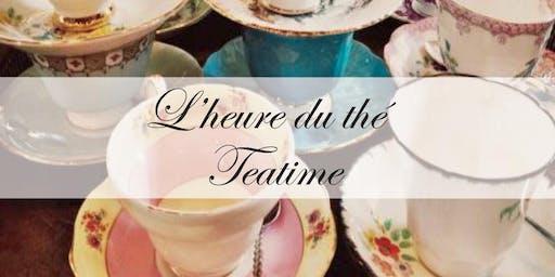 Teatime / L'heure du Thé