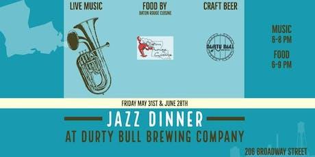 Durty Bull Jazz Dinner tickets