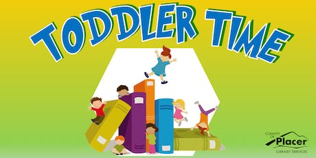 Toddler Time at the Rocklin Library tickets