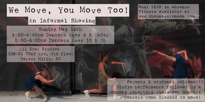 We move, You Move Too! An Informal Showing