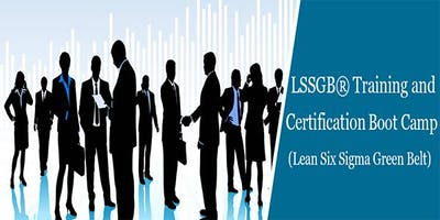 Lean Six Sigma Green Belt (LSSGB) Certification Course in Danbury, CT