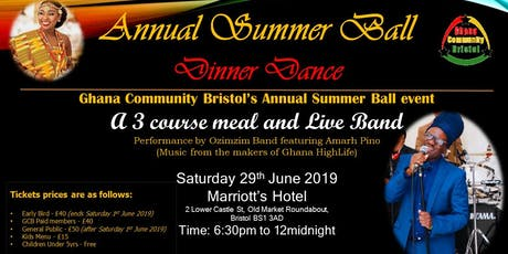 Ghana Community Bristol - Summer Ball tickets