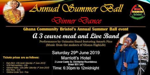 Ghana Community Bristol - Summer Ball