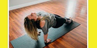 Namaste Sunday Taproom Yoga at Firefly Hollow