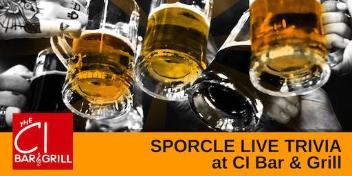 Tuesday Night Trivia at CI Bar & Grill!