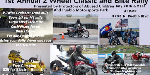 1st annual 2 wheel classic and bike rally
