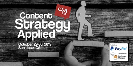 Content Strategy Applied USA tickets