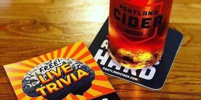 Tuesday Night Trivia at Portland Cider House!