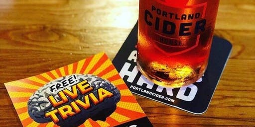 Tuesday Night Trivia at Portland Cider House!