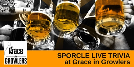 Monday Night Trivia at Grace in Growlers! tickets