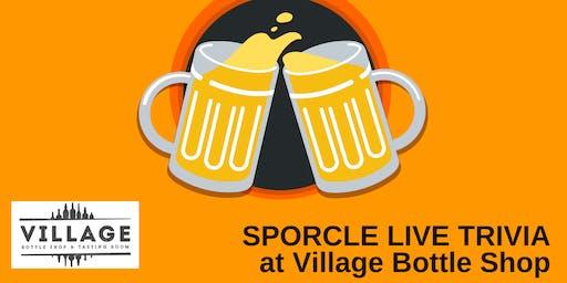 Monday Night Trivia at Village Bottle Shop!
