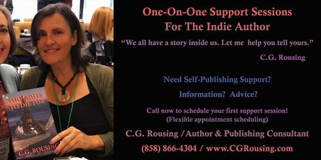 One-On-One Support Sessions for the Indie Author tickets