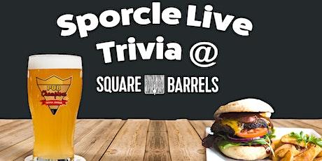 Tuesday Night Trivia at Square Barrels! tickets