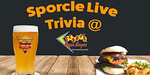 Tuesday Night Trivia at Teddy's Bigger Burgers!