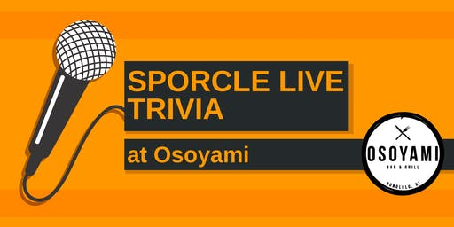 Wednesday Night Trivia at Osoyami!