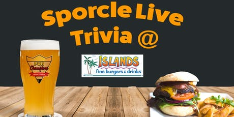 Thursday Night Trivia at Islands! tickets