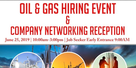 Oil & Gas Hiring Event & Company Networking Reception-Midland/Odessa, TX tickets