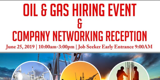 Oil & Gas Hiring Event & Company Networking Reception-Midland/Odessa, TX