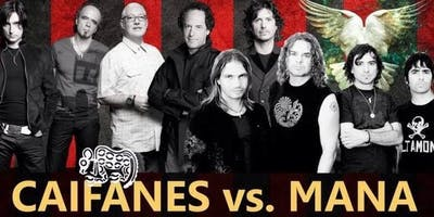 Mana and Caifanes live tribute bands and dancing