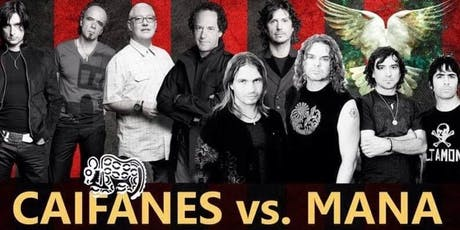 Mana and Caifanes live tribute bands and dancing tickets