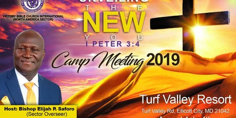 Victory Bible Church International North America 2019 Camp Meeting tickets