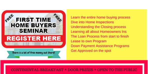 First Time Home Buyers Seminnar