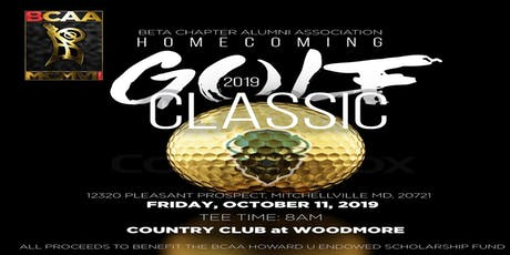 BCAA 2019 Howard Homecoming Golf Classic tickets