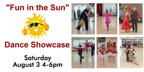 """Fun in the Sun"" Summer Dance Showcase tickets"