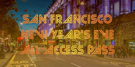 San Francisco All Access Pub Crawl Pass New Year's Eve 2020 tickets