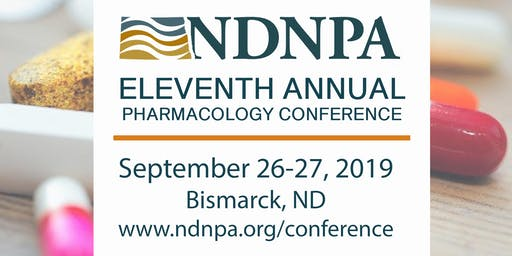 11th Annual North Dakota Nurse Practitioners Association Pharmacology Conference - Vendors ONLY
