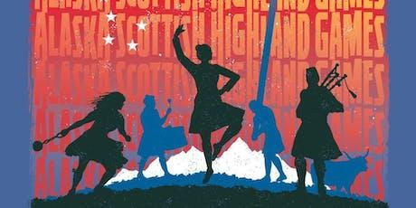 Tickets - 2019 Alaska Scottish Highland Games tickets
