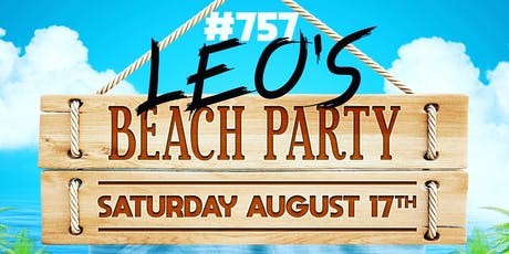 #757 Leos Birthday Beach Party tickets
