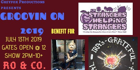 """""""Groovin On 2019""""A Benefit for Strangers Helping Strangers"""