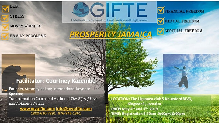 GIFTE's Wake Up to Your Prosperity Jamaica image