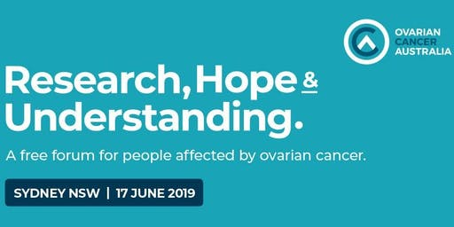 Research, Hope & Understanding - Sydney -  An ovarian cancer consumer forum.