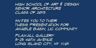 Anable Basin - Architecture Thesis Presentation