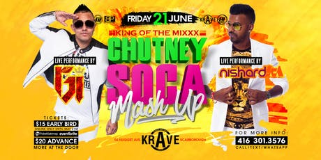 King Of The Mixxx | Chutney Soca Mash Up tickets