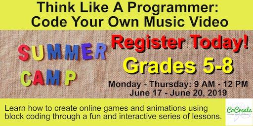 Kids Summer Coding Camp
