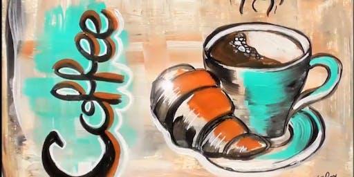 Coffee & Canvas Mondays
