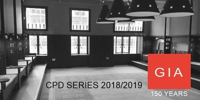 GIA CPD SERIES - 2018/2019 SEASON