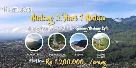 Paket Wisata Malang 2 Hari 1 Malam tickets