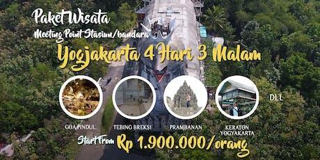 Paket Wisata Yogyakarta Murah 4 Hari 3 Malam tickets