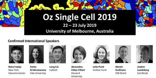 Oz Single Cell 2019 meeting