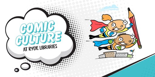 Make your own Comic Book - AGES 7yrs + ONLY